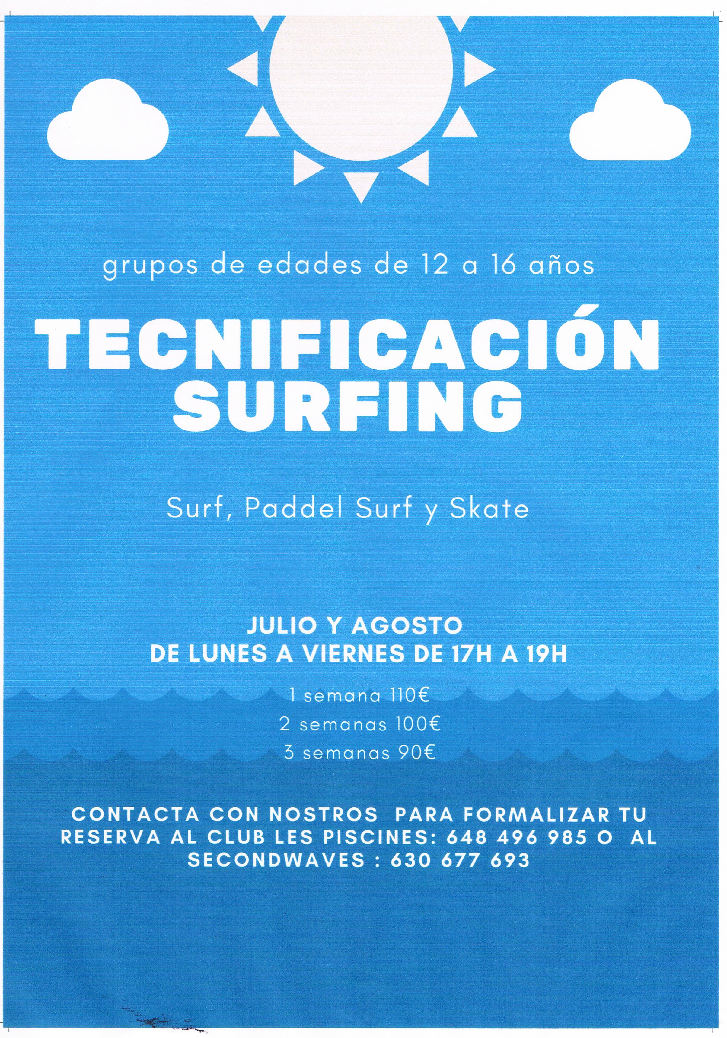 TECNIFICACIÓN SURFING