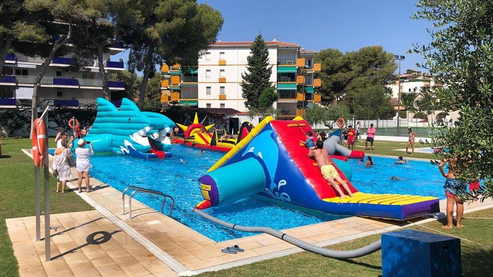 atracciones acuaticas les Piscines club nàutic