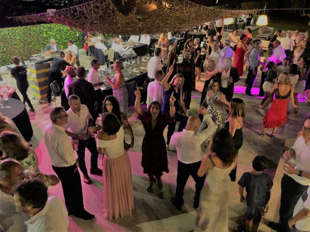 Baile de cena de gala. Les Piscines Club Nàutic. Cal Blay