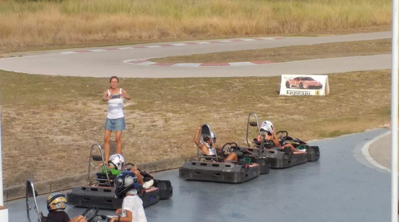 Karting. Les Piscines Club Nautic en el Karting
