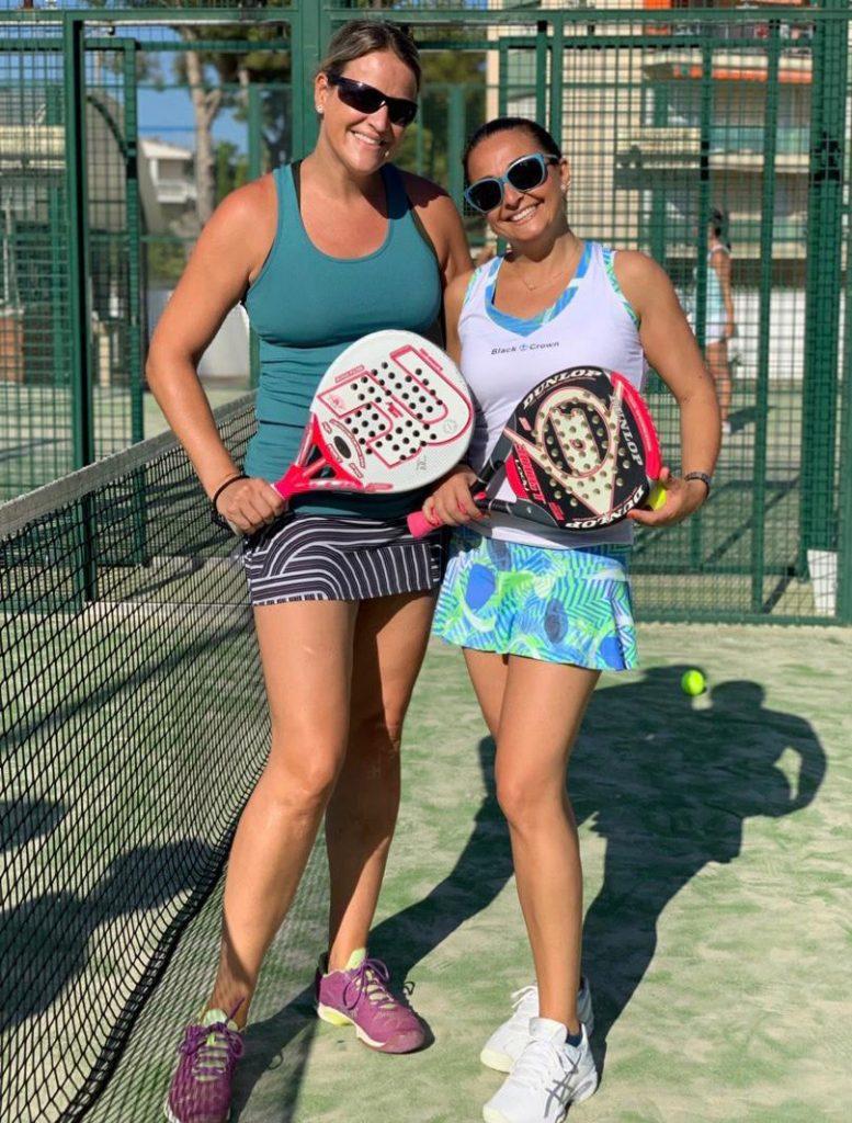 Torneo de padel solidario. Padel femenino. Les piscines Club Nàutic. Tarragona