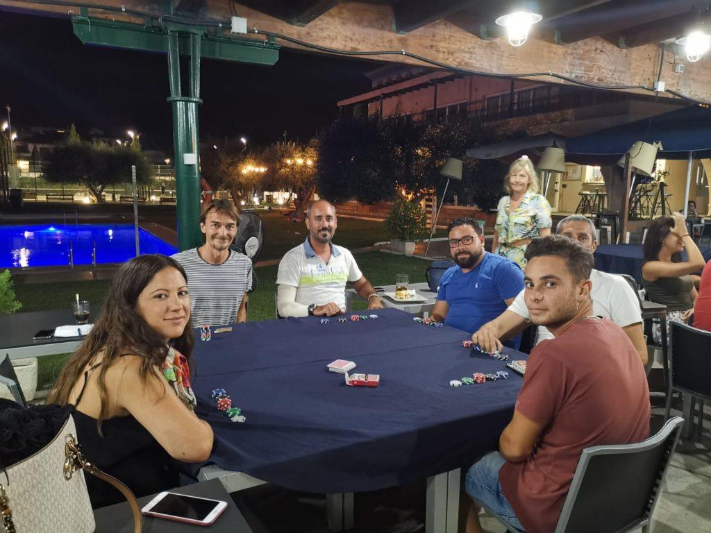 Campeonato de poker. Les Piscines Club Nàutic. Roda de Berà