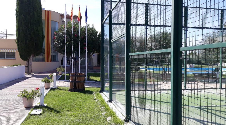 Les Piscines Club Nàutic. Tarragona. Diada de Catalunya. 11 de Setembre2019
